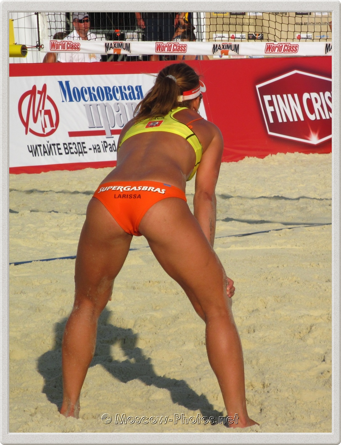 Beach Volleyball Player Larissa Franca