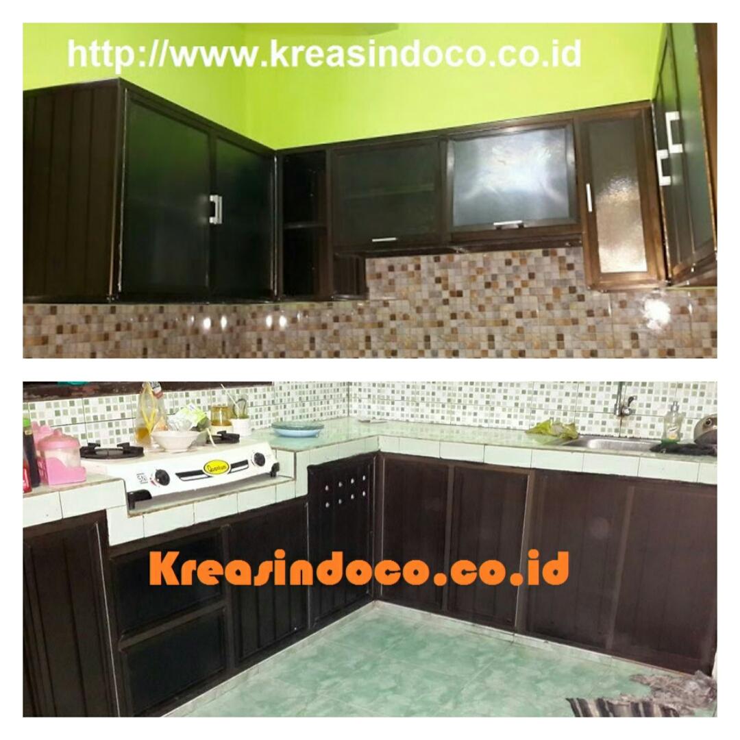 Model Dan Warna Kitchen Set Aluminium Acp
