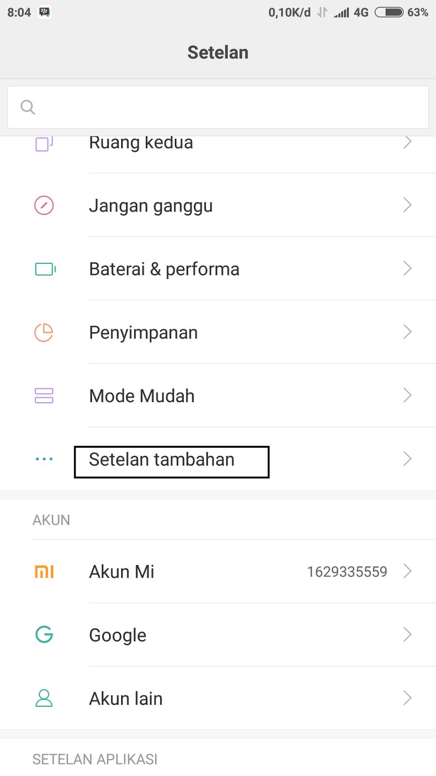Cara Menonaktifkan Talkback Xiaomi Redmi 2 3 4 5