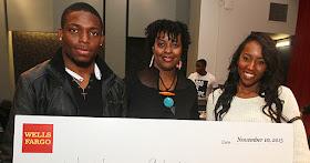 Wells Fargo African American scholarship recipients