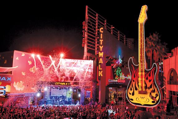 Universal Citywalk en Orlando: Vida Nocturna