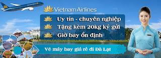 Vietnam Airlines: Giảm giá các chặng bay đến Đà Lạt chỉ từ 299.000 vnđ