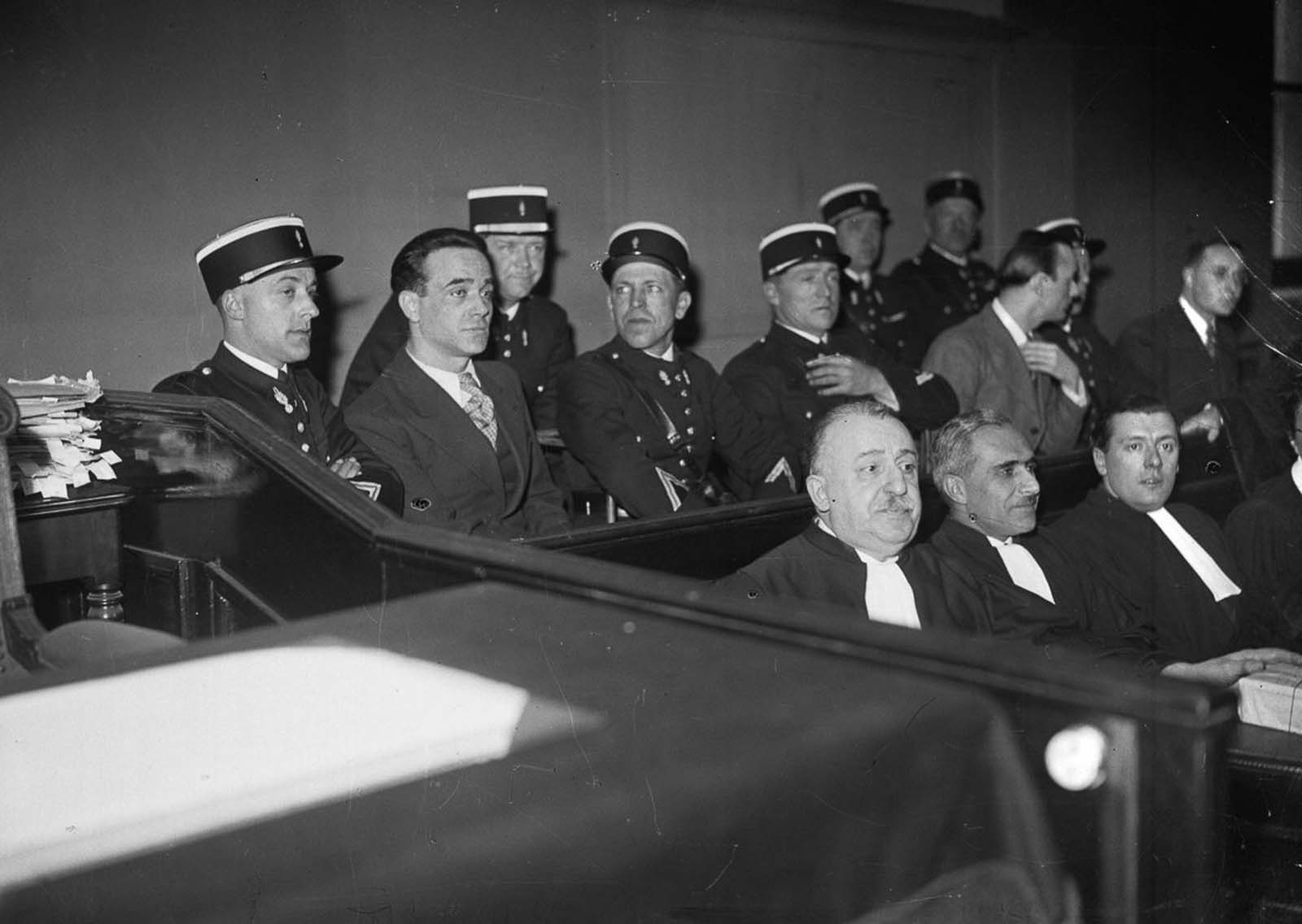 Weidmann on trial in France.