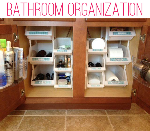organizing under the bathroom sink iheart organizing reader space licious organizing 23893