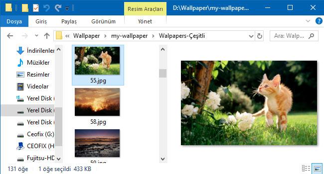 Windows 10'da Dosyalar Açmadan Nasıl Görüntülenir - www.ceofix.com