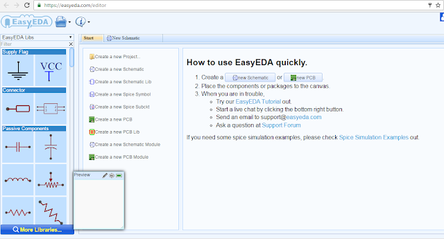Free PCB Design Software - EasyEDA - Electronic Circuit