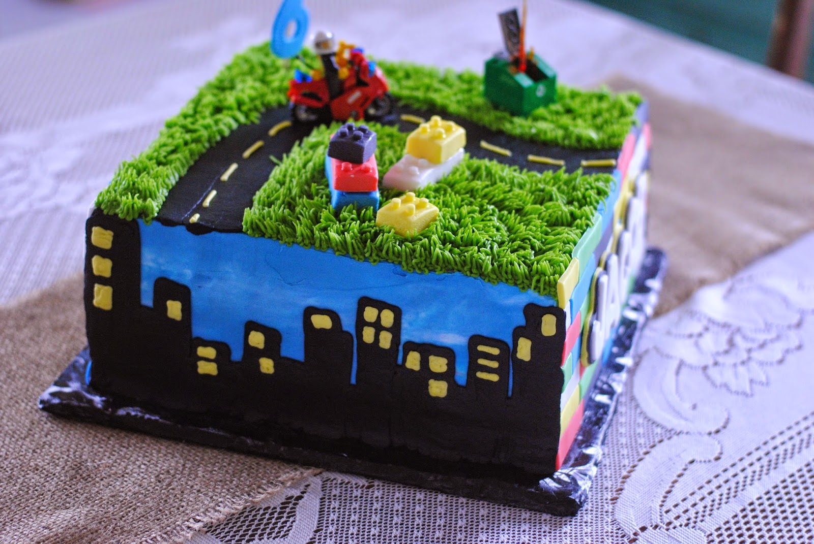 Country Cupboard Cakes Lego City Cake
