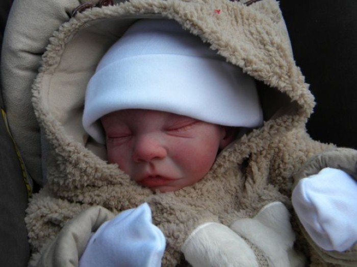 Куклы младенцев от Glenda Ewart 14