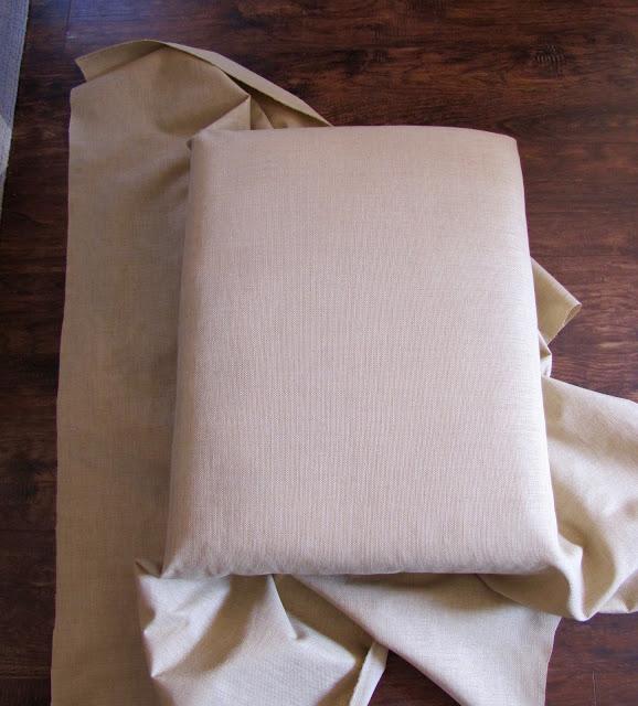 build an upholstered ottoman