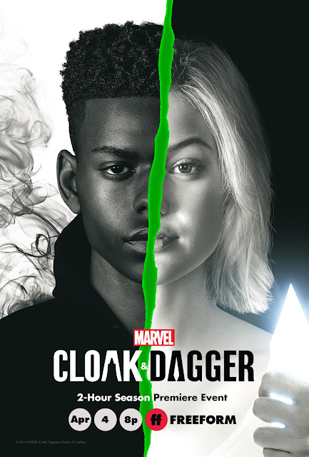 Marvel's Cloak & Dagger season 2 key art