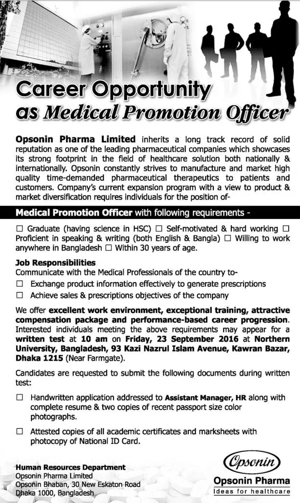 all newspaper jobs  opsonin pharma ltd  position  medical