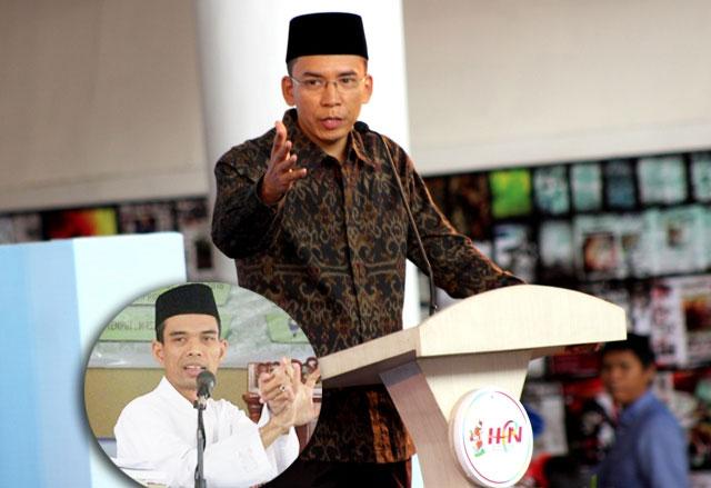 Harapan Ustad Abdul Somad pada Tuan Guru Bajang untuk bisa Menjadi Presiden RI