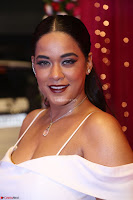 Mumaith Khan Spicy pics in Deep Neck White Gown at Zee Telugu Apsara Awards 2017 04.JPG