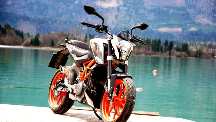 Test The Power of KTM Duke 390