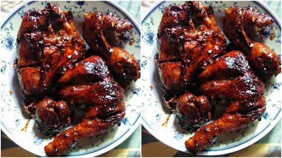 Resep Membuat Ayam Bakar Caramel. Enak Banget dan Super Lazizzz Bikin Nasi Cepat Habis
