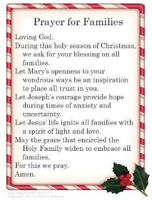 Christmas Day Prayers for Family and friends