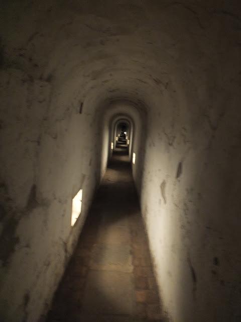 túneles de la fortaleza grande terezin