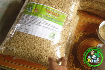 Sigit Setyo Klaten, Jateng      Pembeli Benih Padi TRISAKTI 75 HST Panen  sebanyak 15 Kg atau 3 Bungkus
