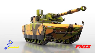 Medium Tank Kaplan, Pindad - FNSS