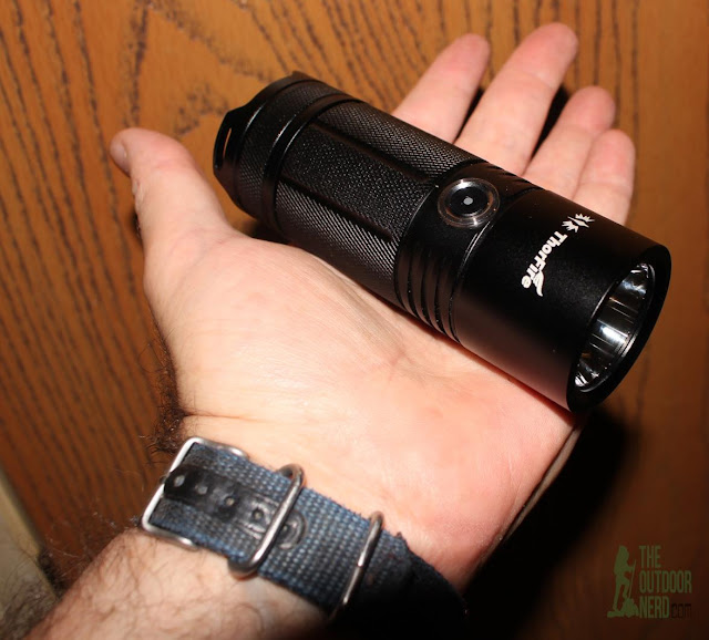 ThorFire TK4A 4xAA LED Flashlight - In Hand