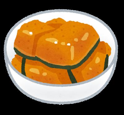 カボチャの煮物のイラスト