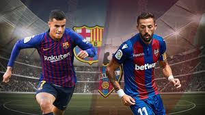 Barcelona vs Levante Highlights Today 17/1/2019 online Spain Copa del Rey