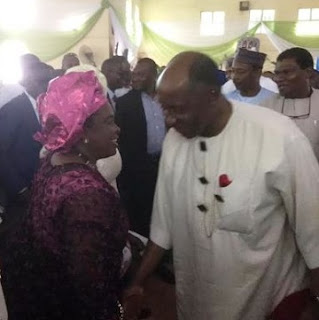 At Last, Patience Jonathan, Amaechi Reunites After years of Political Rivalry, See Photo