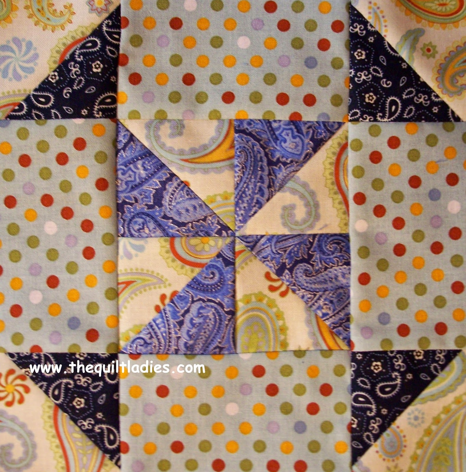 quilt block pattern of the month  for July