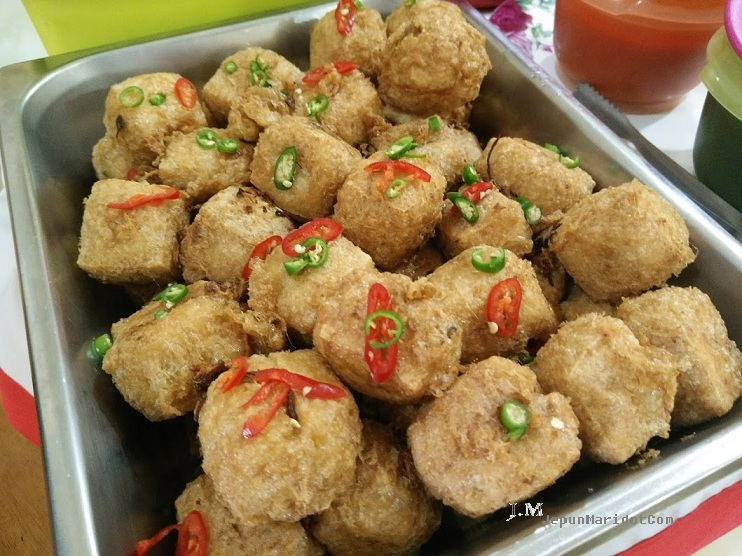 Cara buat tauhu begedil - full resepi step by step.