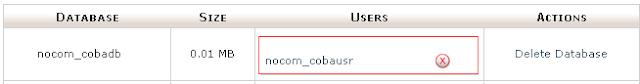 Cara Membuat Database MySQL Menggunakan Cpanel 10