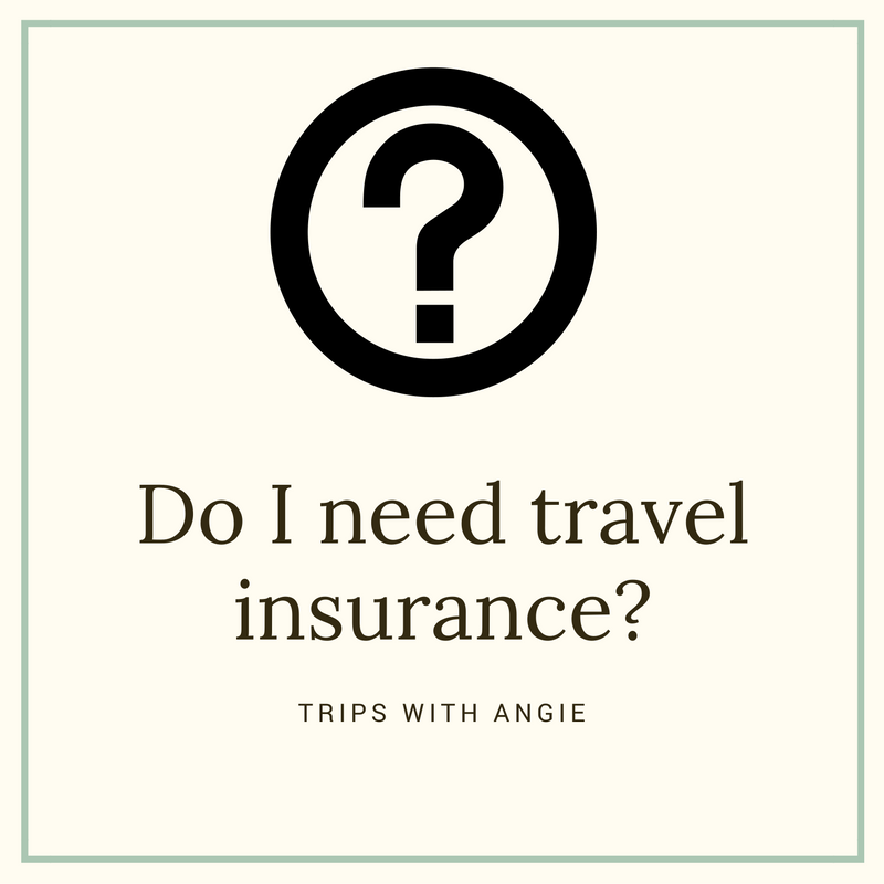 trips with angie do i need travel insurance. Black Bedroom Furniture Sets. Home Design Ideas