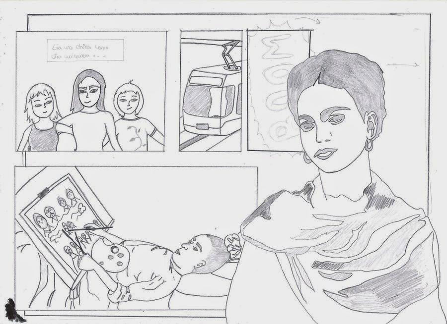 Frida Kahlo Dibujo Animado Para Colorear: Imagenes De Frida Kahlo Animada Para Colorear