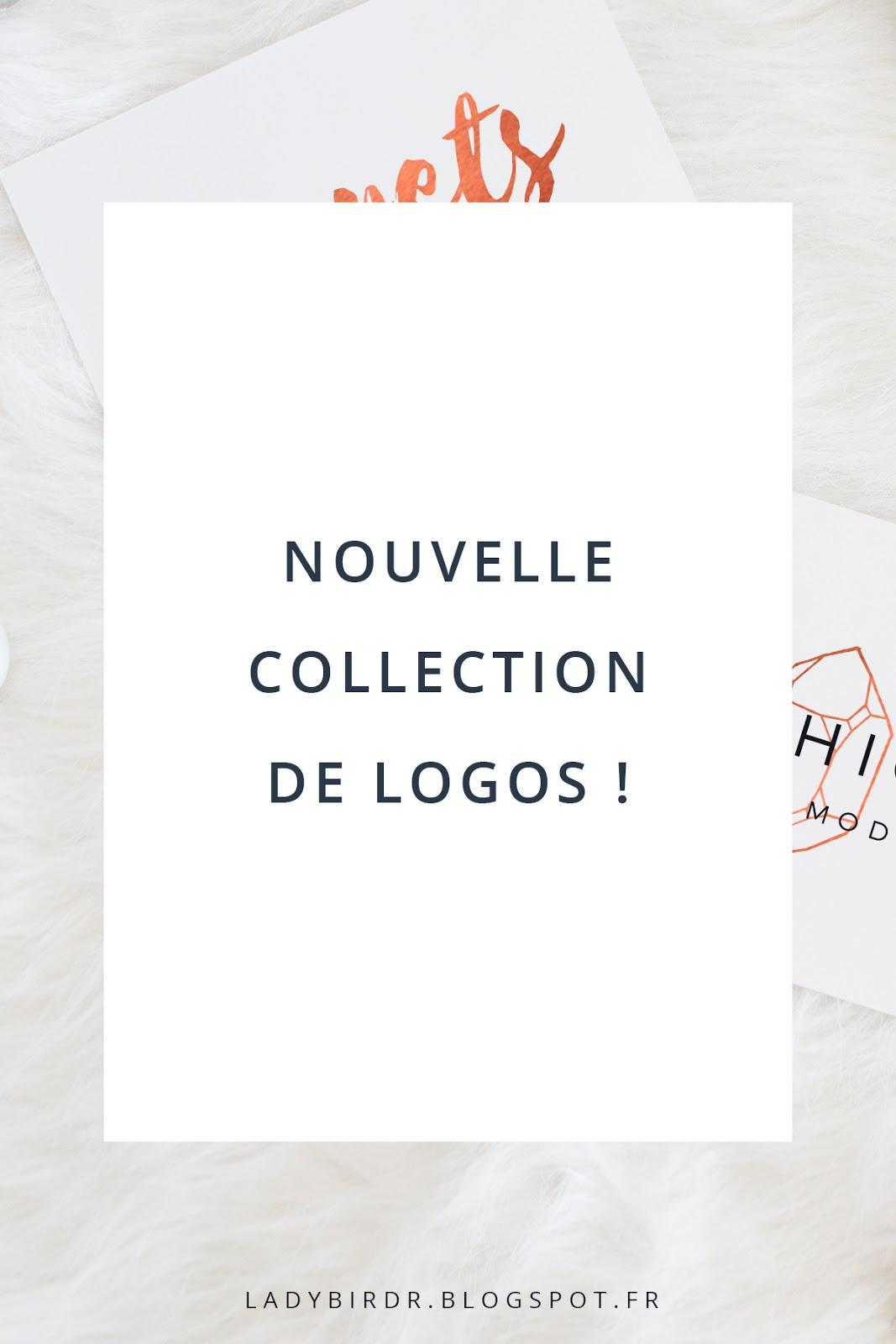 Nouvelle collection de modèles de logos
