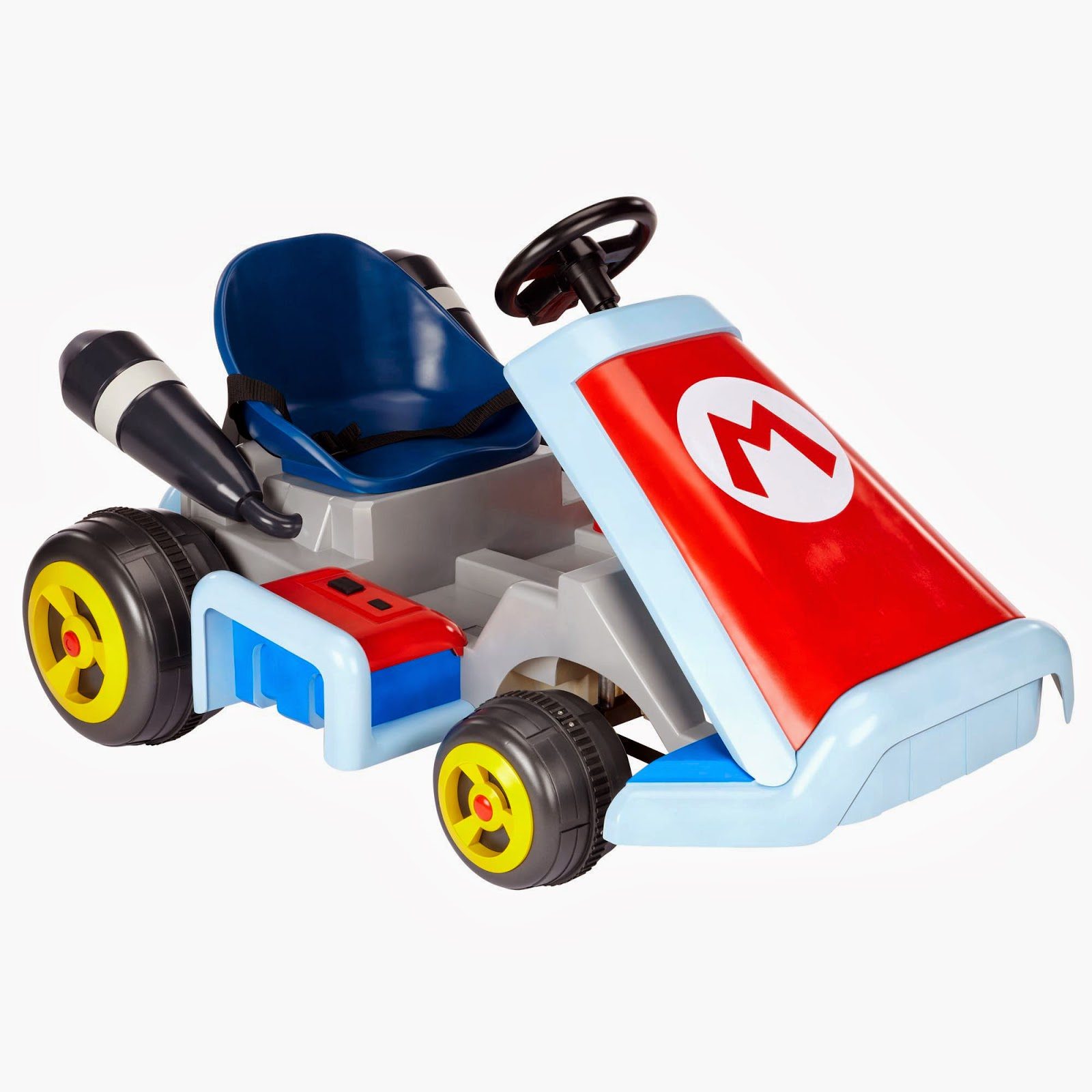 super mario kart ride on canadian mom reviews. Black Bedroom Furniture Sets. Home Design Ideas