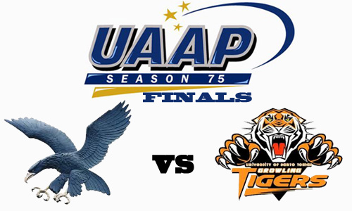 UAAP 75 Best-of-Three Final Game Schedule and Results