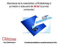 Castiga o reducere la prima comanda plasata pe Diabetmag.ro