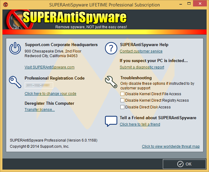 SUPERAntiSpyware LIFETIME Professional