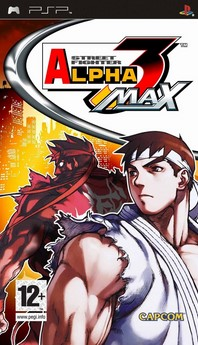 Download Street Fighter Alpha 3 MAX PSP ISO