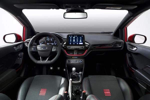 Interior Ford Fiesta ST Line 2017