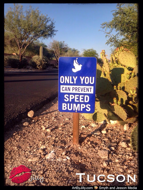 Only You Can Prevent Speed Bumps