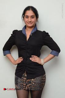 Telugu Actress Priyanka Pallavi Stills in Micro Mini Skirt at Nenosthaa Movie Song Launch at Radio City  0004.JPG