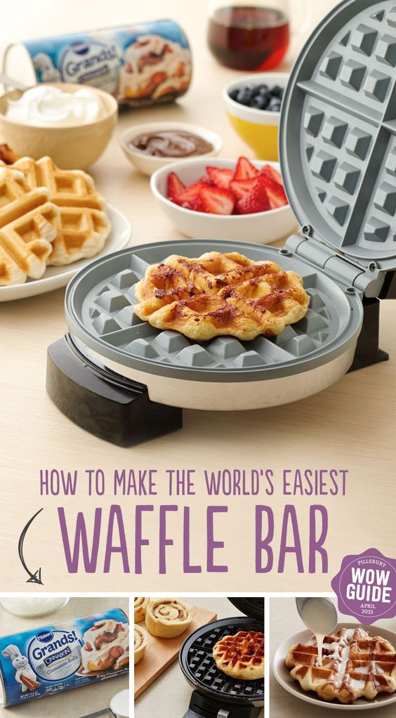 4 Steps to an LDS Waffle Bar Party - Invite Idea Included ...