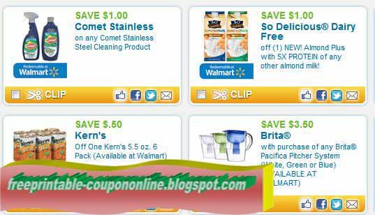 Walmart coupons store printable