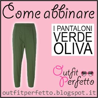 Come abbinare i pantaloni verde oliva o militare in autunno inverno