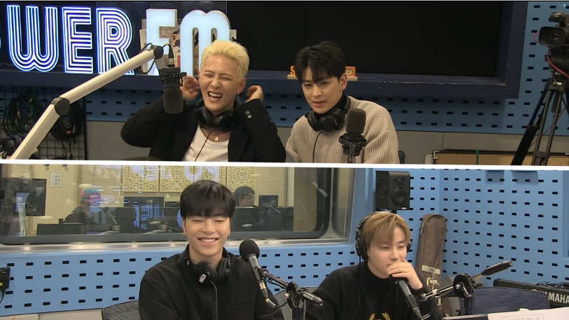 181119 iKON Donghyuk x Yunhyeong as Special DJ on SBS