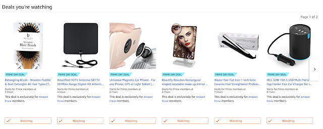 Hair Care Lovers Amazon Prime Day Watch List | arelaxedgal.com