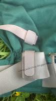 avis test préformé Ling ling d'amour LLA bébé 4 mois portage tissu coton bio