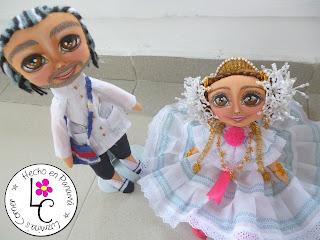 Muñecas Panameñas