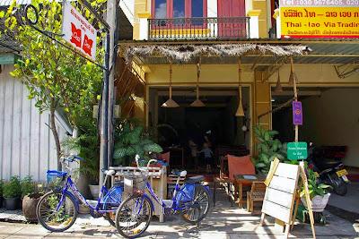 Cafe Chai Dee in Savannakhet