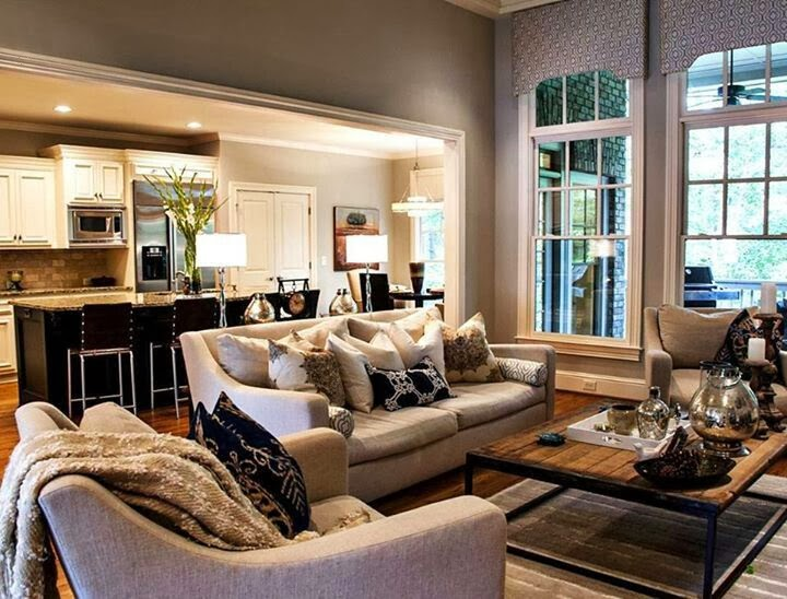 Abby Manchesky Interiors: Can you mix grey and beige? + e ...